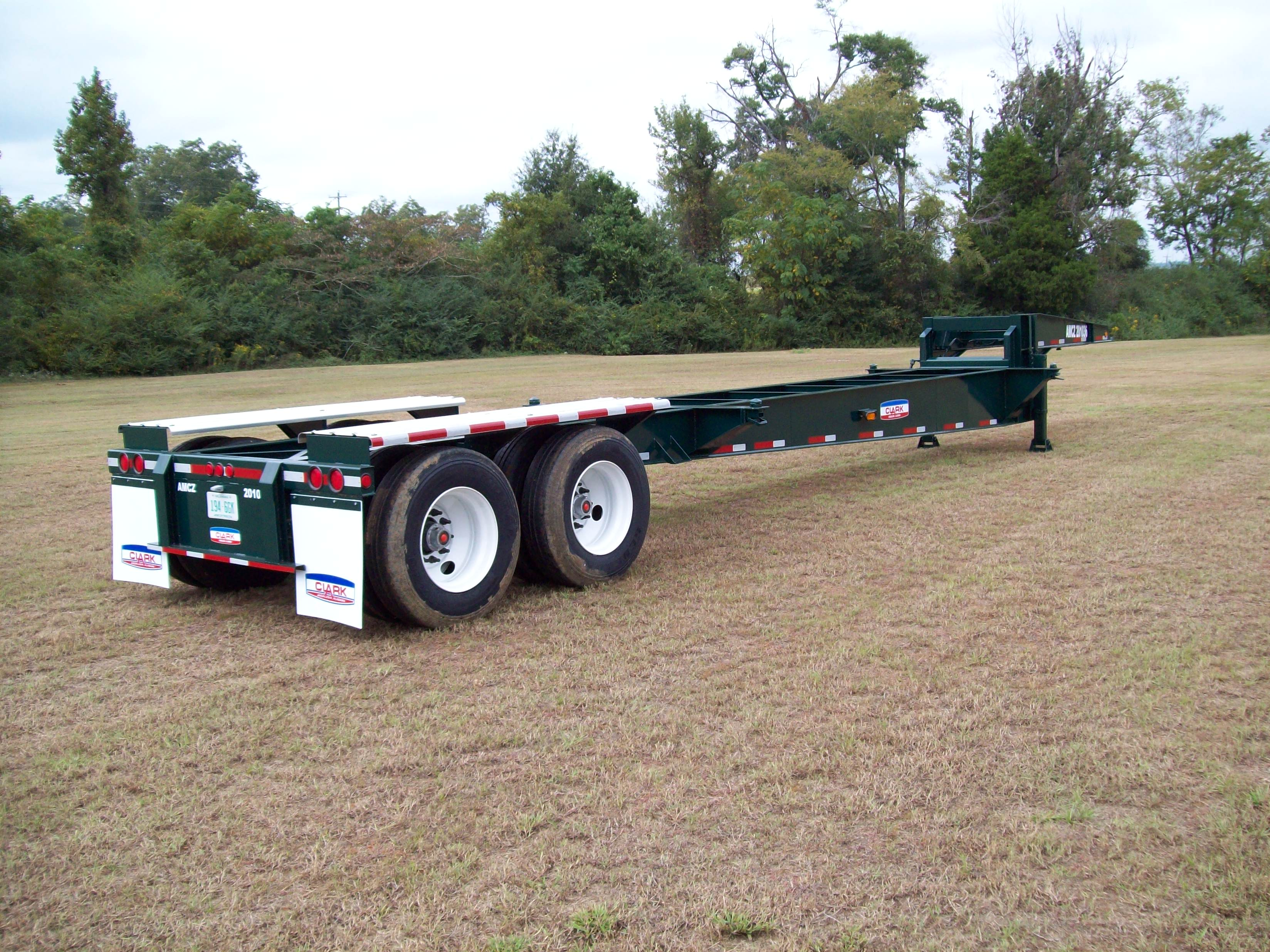 Container Chassis Landing Gear : Dropdeck container chassis