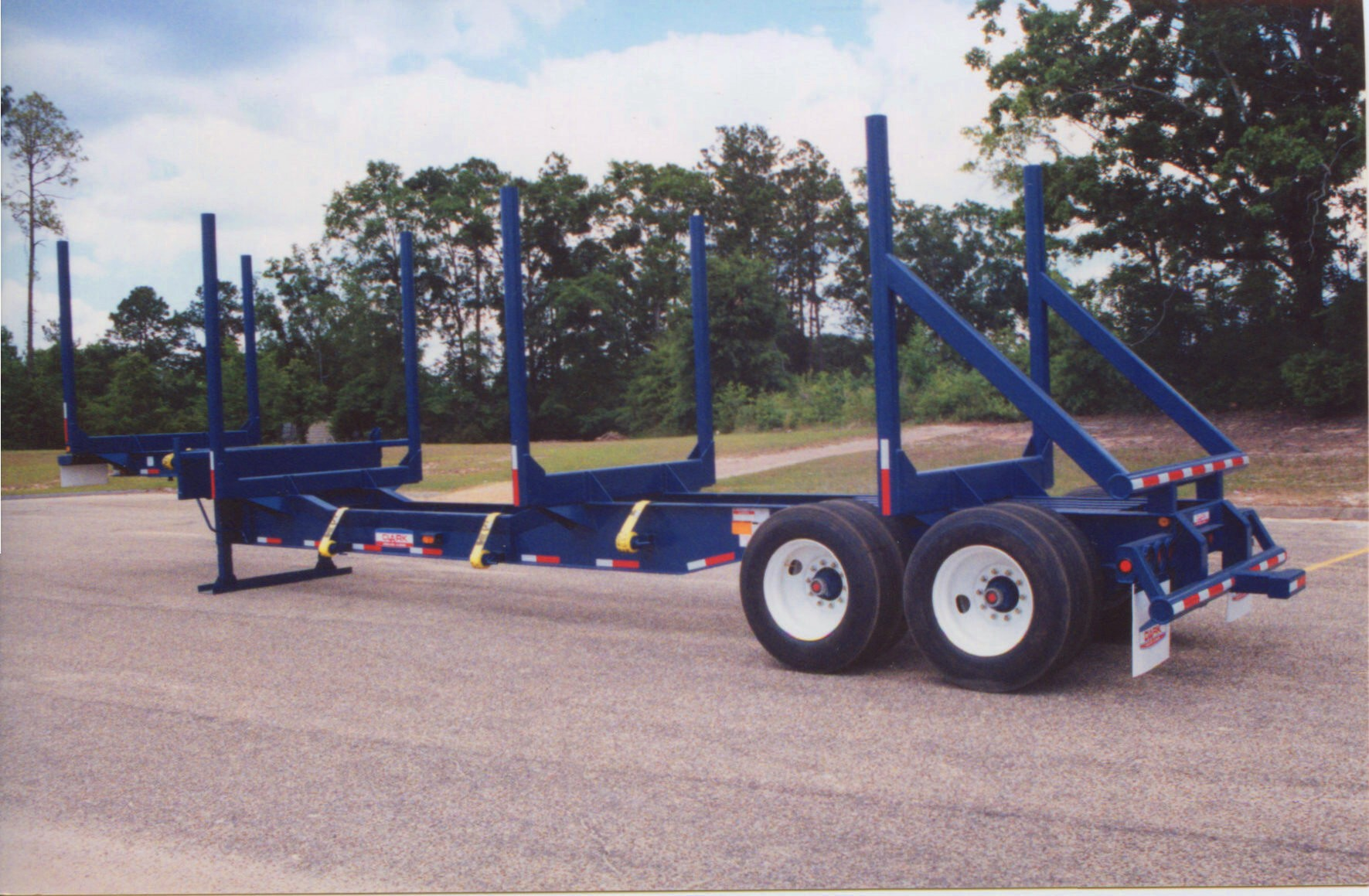 Low Profile Log Trailer: Model CLPLT-42L